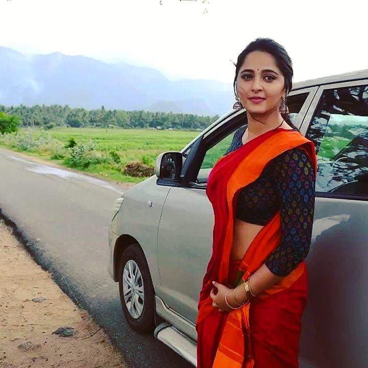 Actress Anuskha