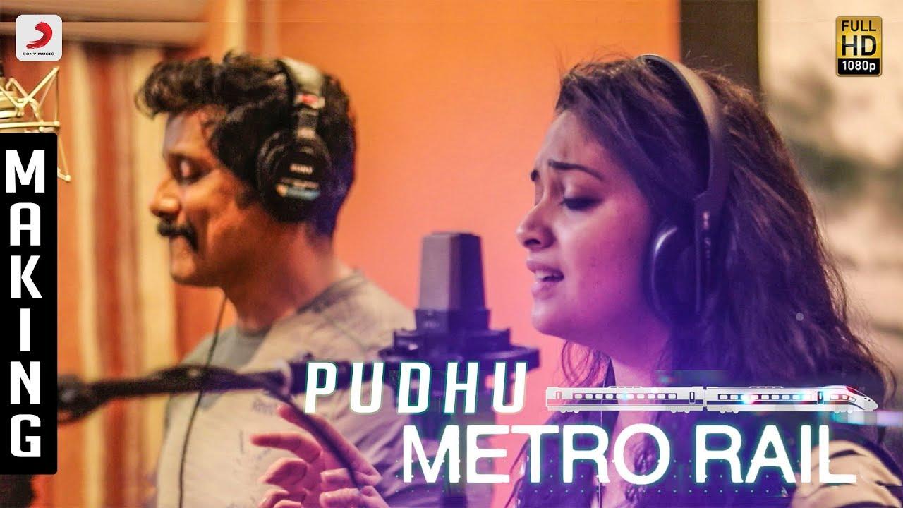 Saamy 2 - Pudhu Metro Rail Making Video - Chiyaan Vikram - Keerthy Suresh - Devi Sri Prasad - Hari
