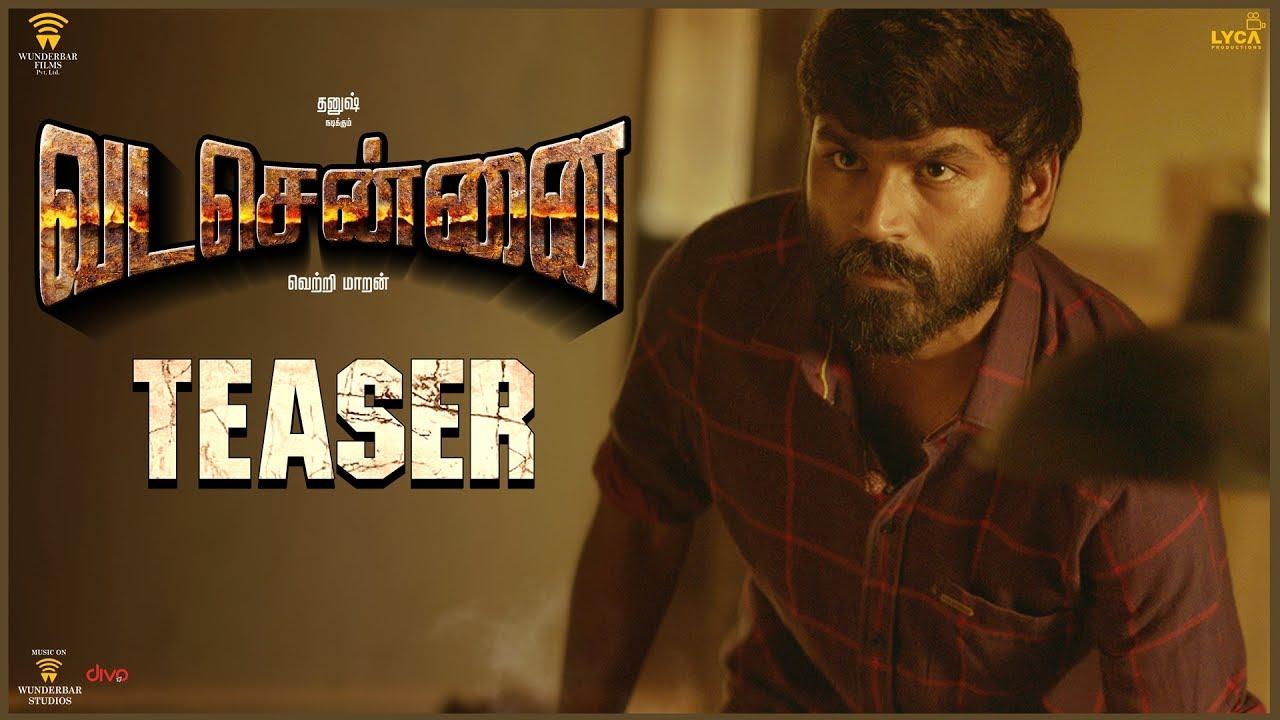 VADACHENNAI – Official Teaser (Tamil), Dhanush, Aishwarya rajesh, Vetri Maaran, Santhosh Narayanan