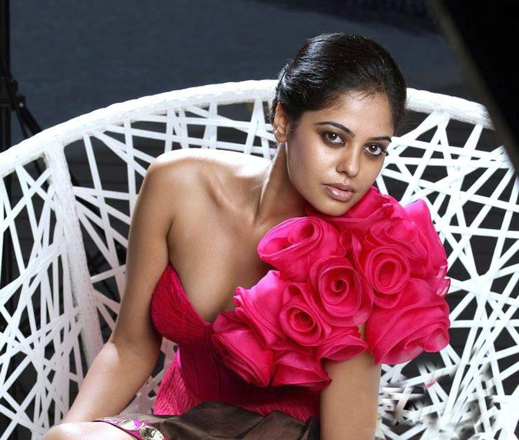 bindhu madhavi sexy hot seducing exposing boobs show photos