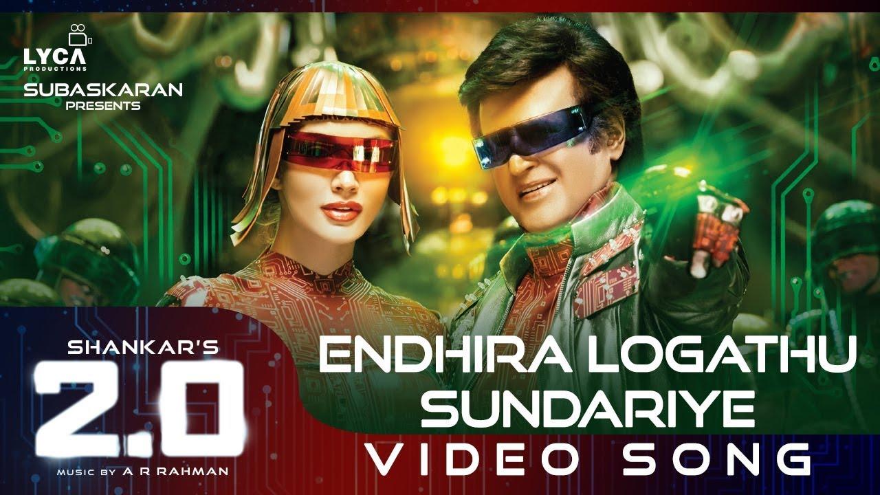 Endhira Logathu Sundariye Tamil Video Song – 2.O -Rajinikanth-Shankar-AR Rahman