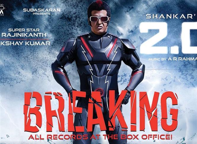 Rajinikanth 2Point0 hits new all-time record Chennai City Box Office opening day beating Sarkar