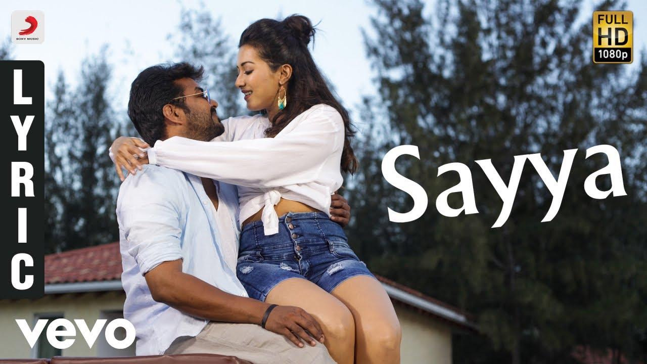 Neeya 2 - Sayya Tamil Lyric-Jai-Catherine Tresa-Raai Laxmi-Shabir