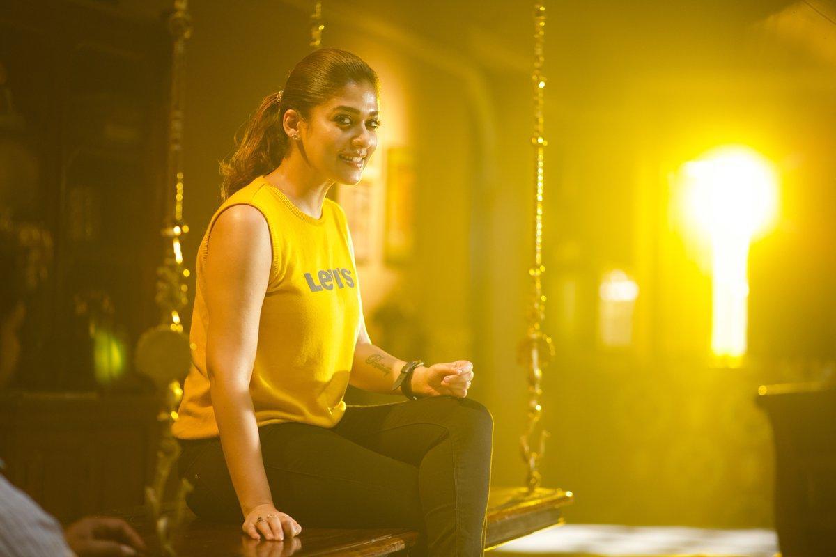 Lady superstar Nayanthara from Airaa movie stills Produced by kjr studios