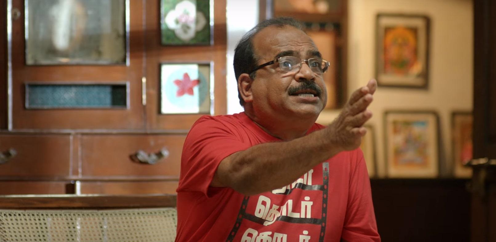 lkg-tamil-movie-review-images-hd-nanjil-sampath-rjbalaji-priya-anand-political-drama