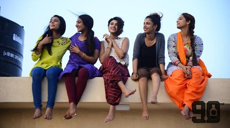 90 ML Movie Review - Oviya - Anita udeep
