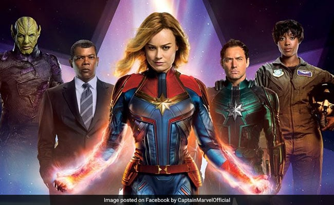 Movies Releasing today - Boomerang - Pottu - Captain marvel and more-Captain Marvel-Starring Brie Larson, Jude Law Directed by Anna Boden & Ryan Fleck