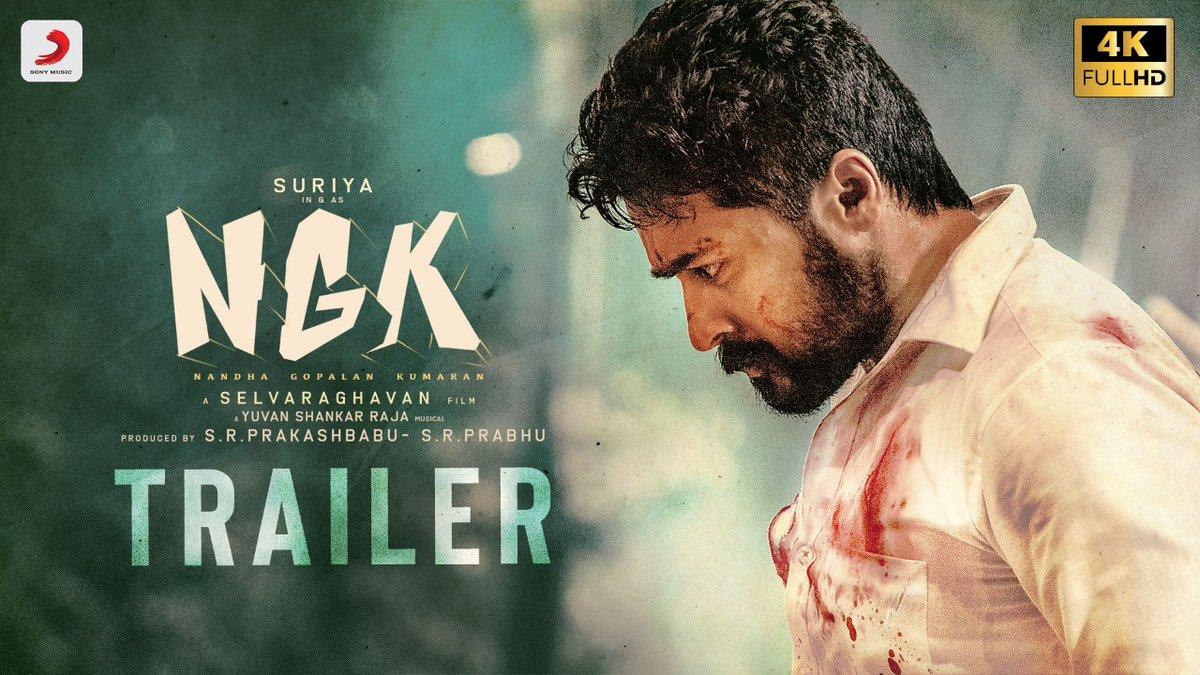 NGK - Official Tamil Trailer-Suriya-Sai Pallavi-Rakul Preet-Yuvan Shankar Raja-Selvaraghavan