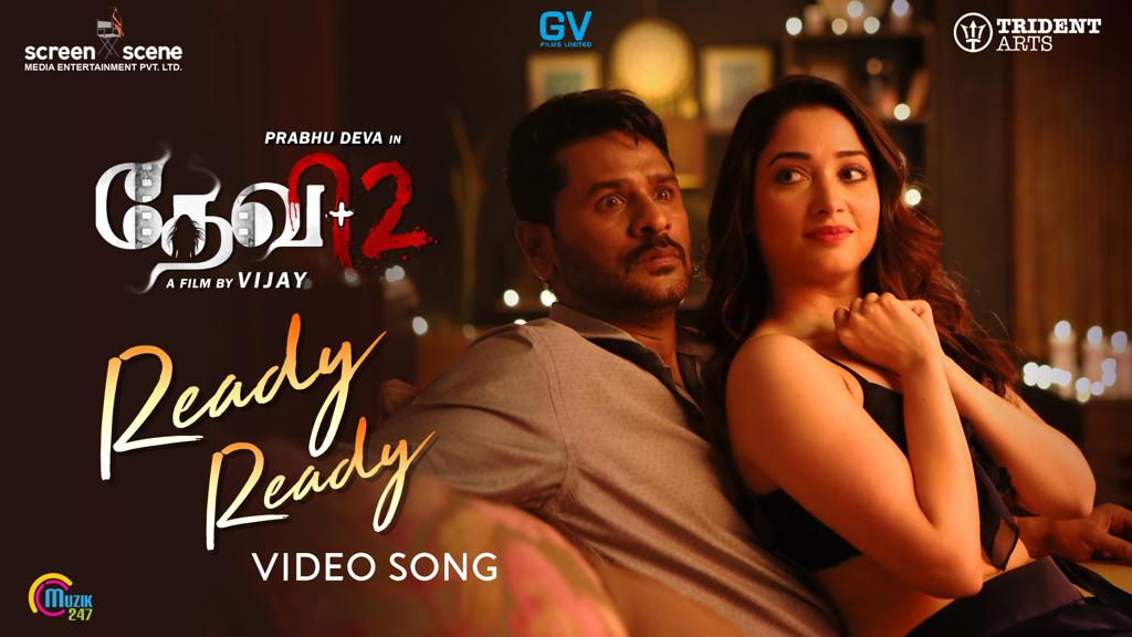 Devi 2-Ready Ready Video Song-Prabhu Deva, Tamannaah-Vijay-Sam C S musical