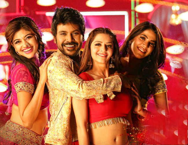 Kanchana 3 Movie Review - raghava lawrence - oviya helen - nikki tamboli - vedhika-tamil cine stars