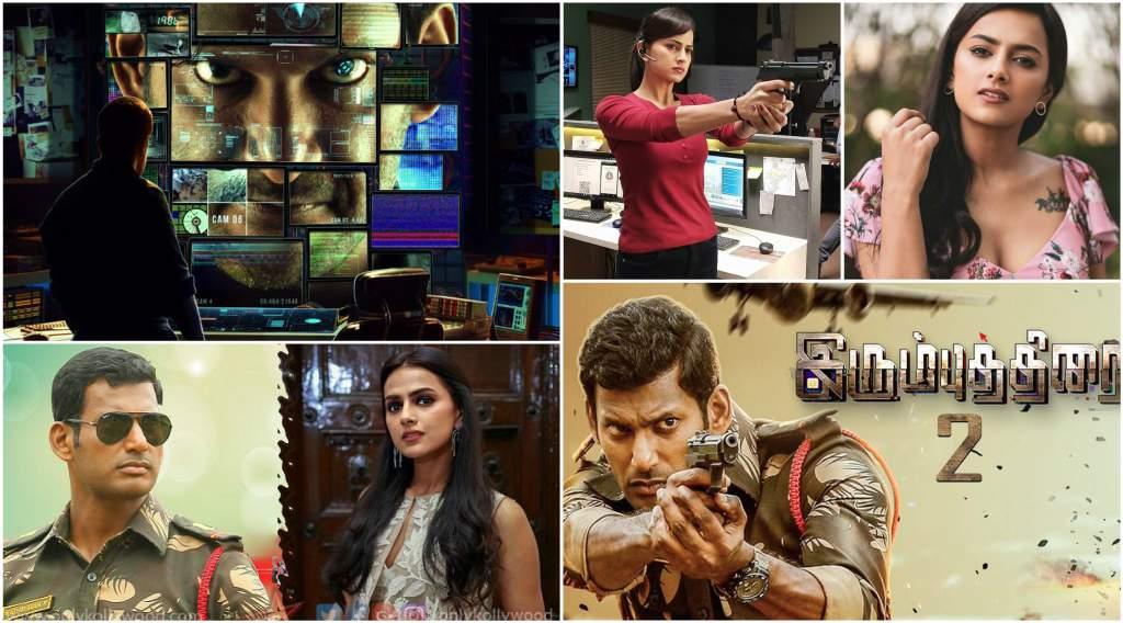 Vishal-as-army-officer-sexy-Shraddha-Srinath-cop-IrumbuThirai-Sequel
