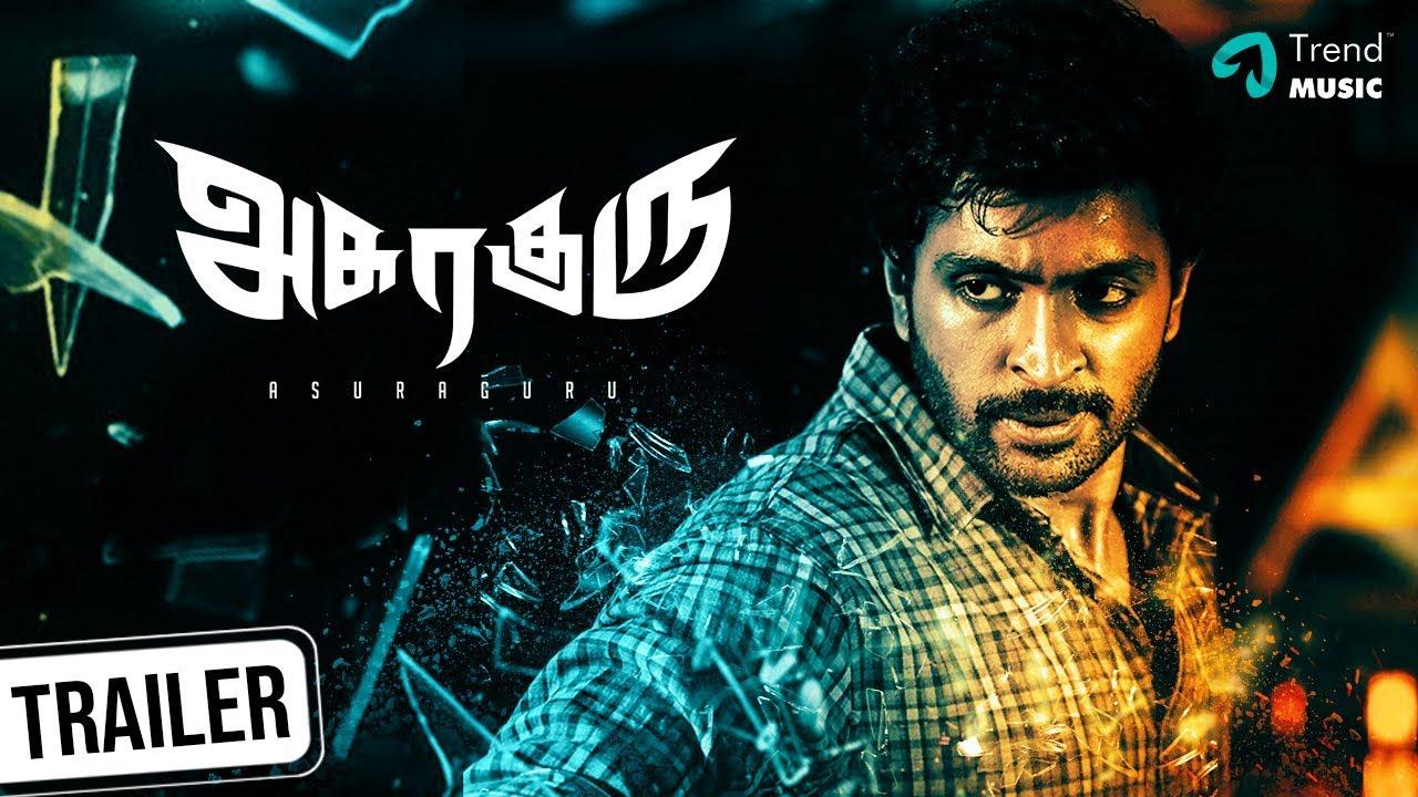 Asuraguru-Tamil-Movie-Official-Trailer-starring-Vikram-Prabhu-Mahima Nambiar-Yogi-Babu-Directed by-A Raajdheep