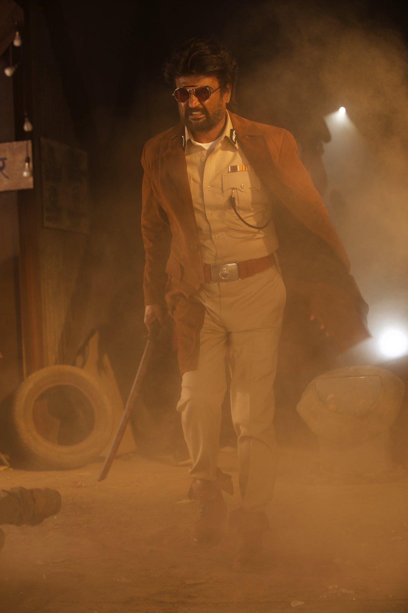 India biggest Superstar Rajinikanth Darbar movie Stills ARmurugadoss