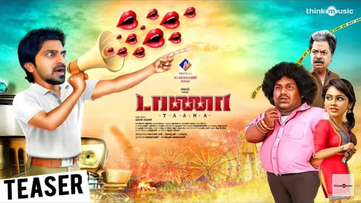 Taana Official Teaser Starring Vaibhav-NanditaSwetha-Yuvaraj Subramani
