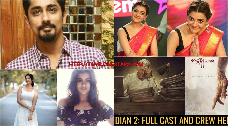 Indian 2 Sequel Star cast with Talented actor & actress – Shankar-Kamalhaasan