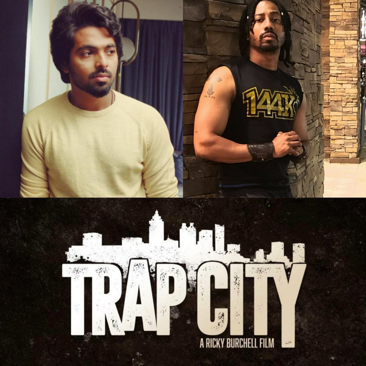 Musician Turned Actor GVPrakash To Make His Hollywood Debut In Ricky Burchell TrapCity