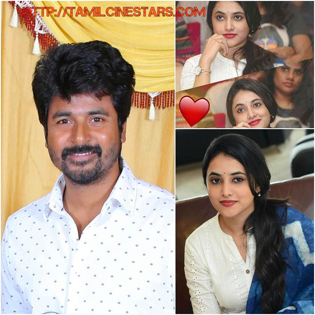 Gang leader Telugu movie actress Priyanka arul mohan making debut in tamil through Sivakarthikeyan movie