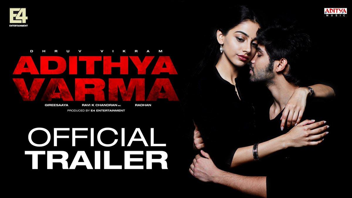 Adithya Varma HD Official Trailer Starring Dhruv Vikram Gireesaaya E4 Entertainment