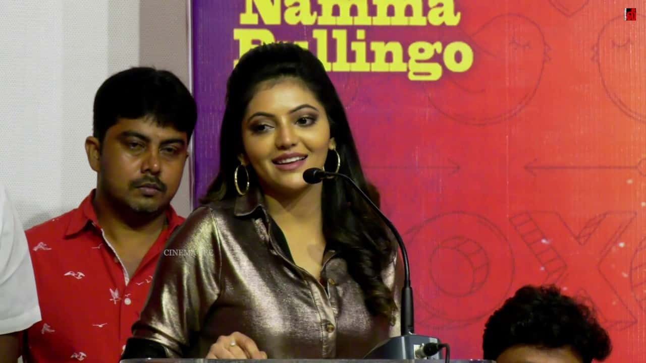 Capmaari From Friday 13th in theatres checkout Press Meet stills and Athulya Ravi Speech