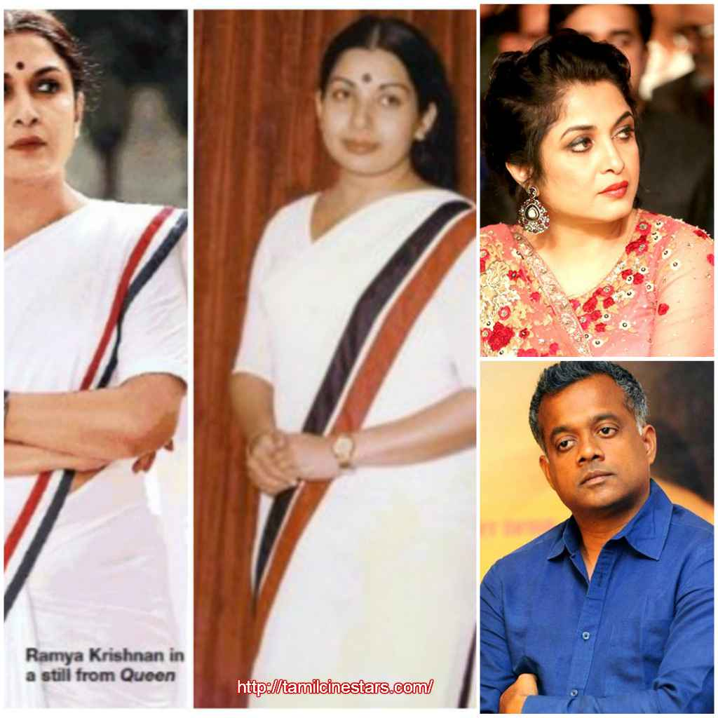Queen Web series Starring Ramyakrishnan as J Jayalalitha Trailer releasing on Dec 5th directed by Gautham Vasudev Menon