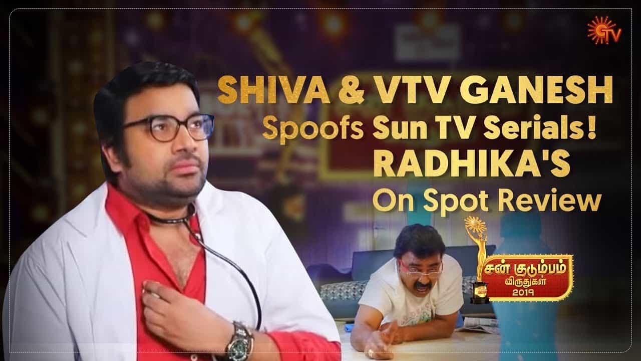 Chennai 600028 Actor Siva Spoofs Sun TV Serials Sun Kudumbam Virudhugal 2019