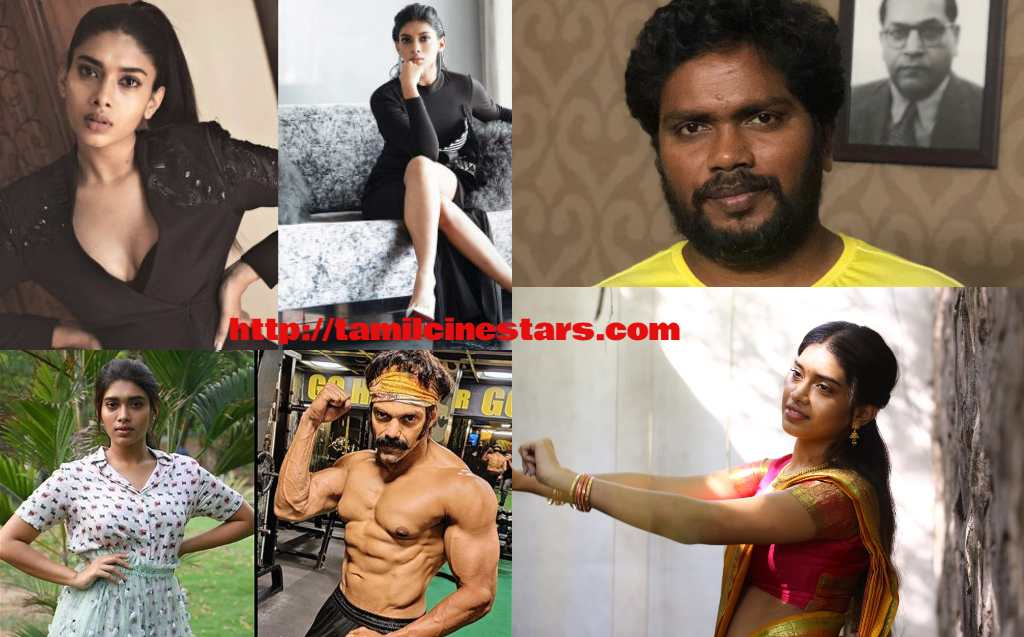 Bodhai Yeri Budhi Maari Lead Actress Dushara Vijayan in Arya PA Ranjith Film