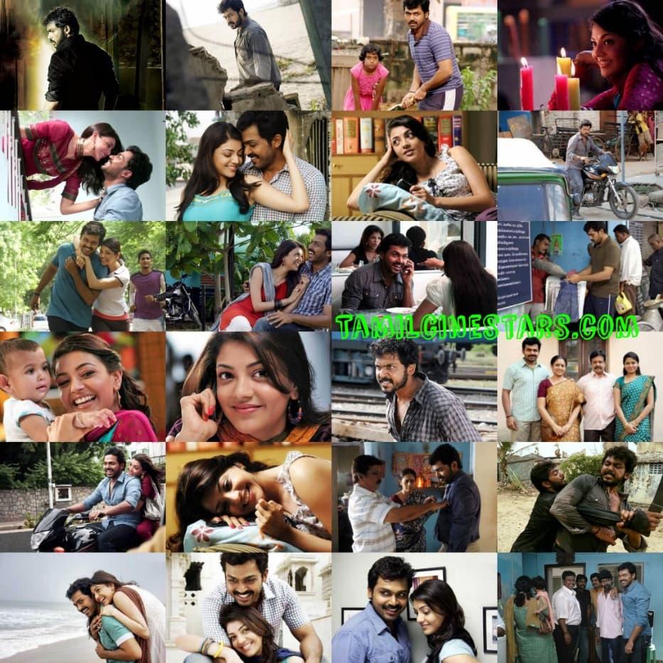 10 years of Karthi Kajal Aggarwal starrer Naan Mahaan alla collages gallery