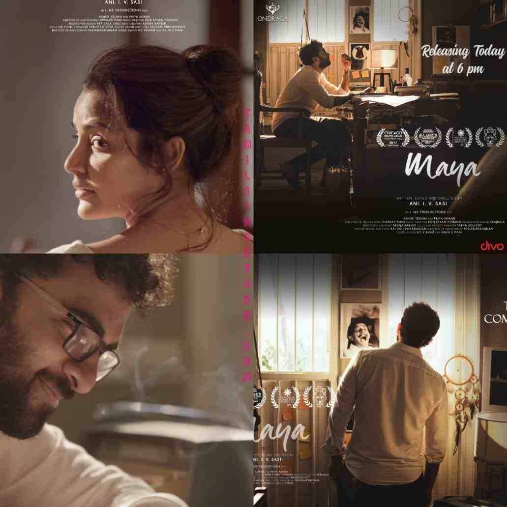 Ashok Selvan Priya Anand starrer Maya short film
