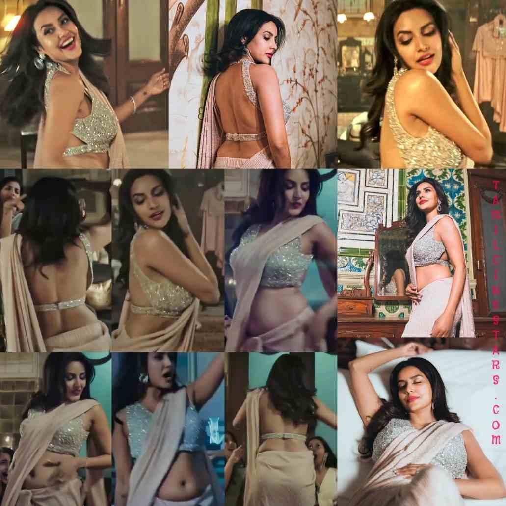Priya Anand sizzling Sleeveless saree Stills for Dream Mein Meri Entry Video Song