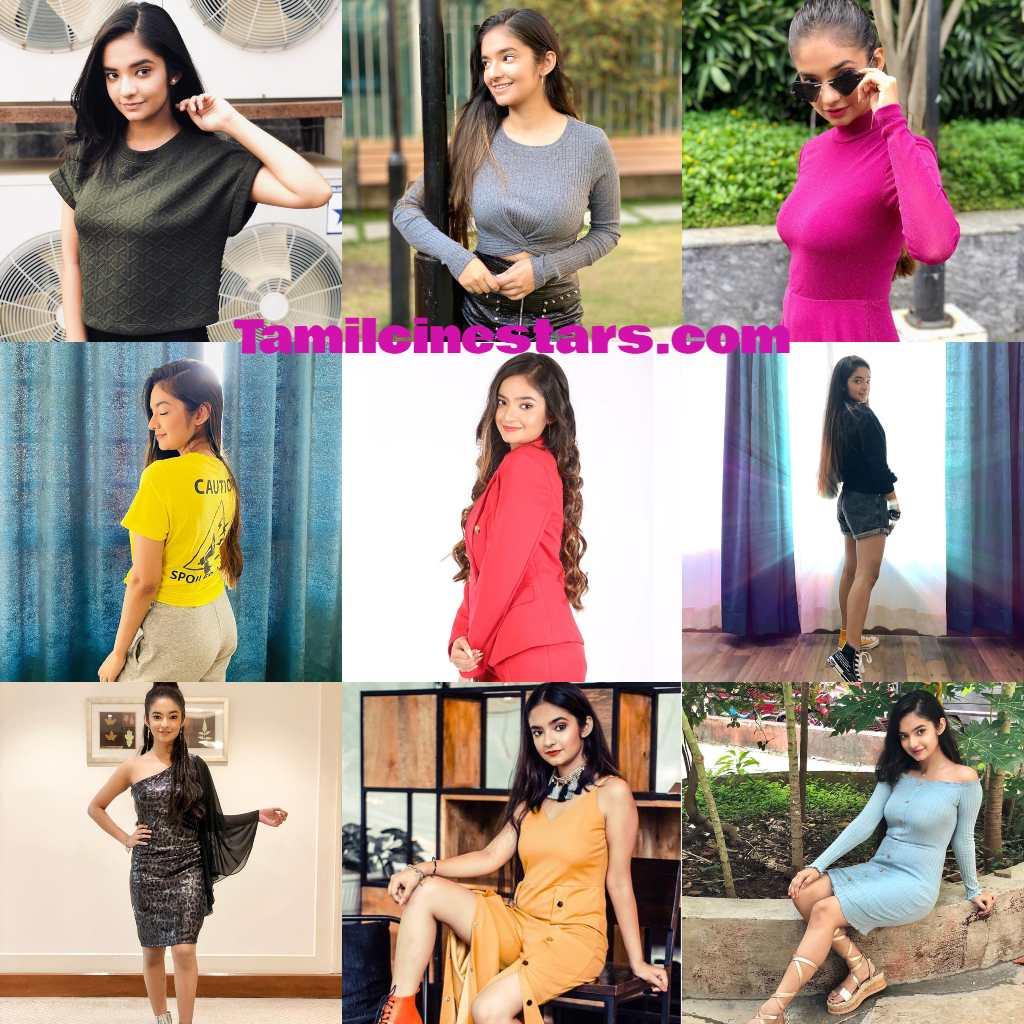 Bollywood TV Serial actress Anushka Sen Photo gallery Biography