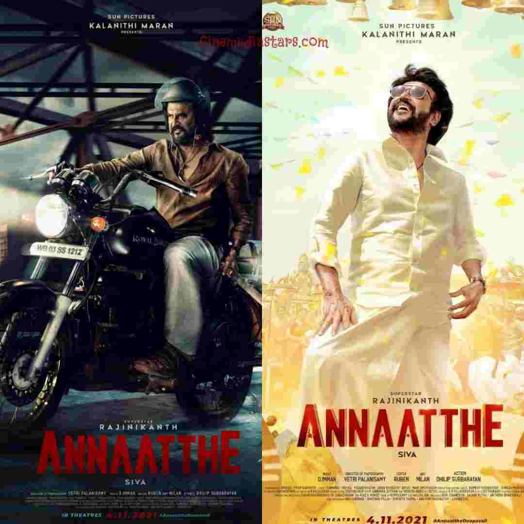 Thalaivar Rajinikanth Annaatthe First Look and Second Look Posters Directed by Siva
